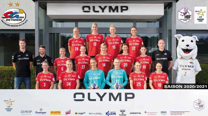 SG BBM Bietigheim - Handball Bundesliga und EHF Champions League Saison 2020-2021 - Copyright: SG BBM Bietigheim