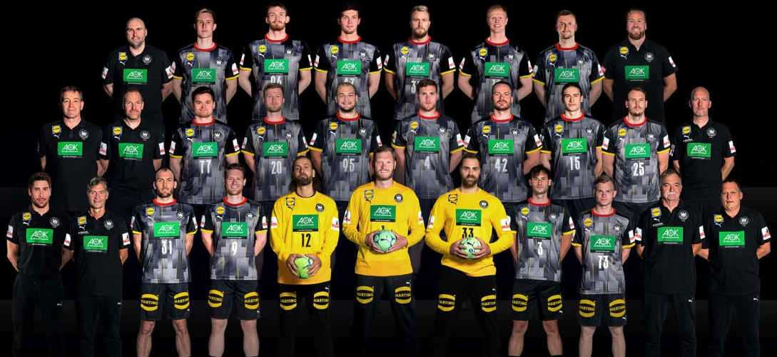 Handball EM 2022 - DHB Team - Deutschland - Copyright: Sascha Klahn / DHB