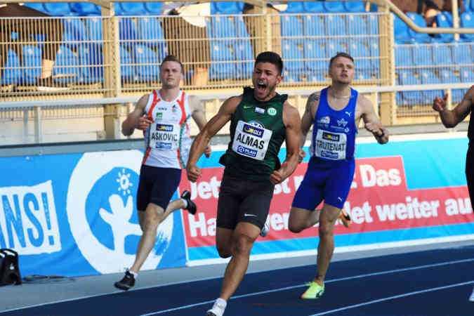 Deniz Almas – Leichtathletik DM 2020 – Foto: Theo Kiefner